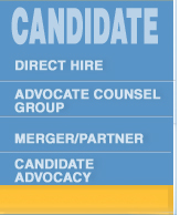 Candidate - Direct-Hire/Contract&Document Review/Merger/Advocacy